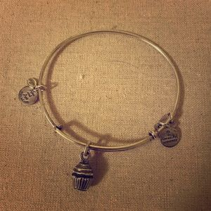 Alex and Ani cupcake bracelet